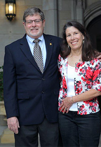 Dr. Martin Ritchie and Dr. Lynette Hale